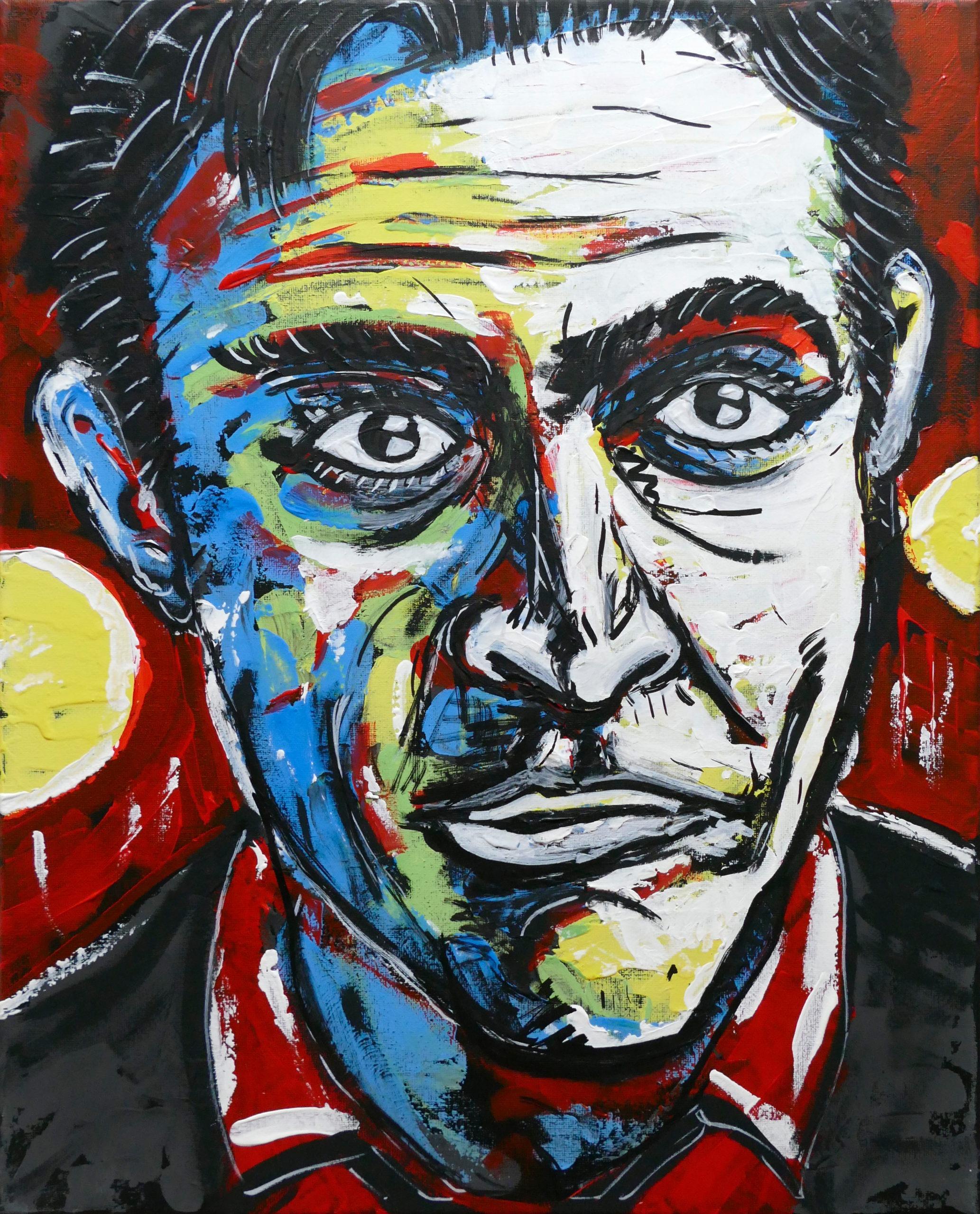 Gemäldeserie – Bond Portraits
